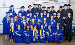 Photo by Jeni Yantis Okaw Valley Class of 2014 Pictured is this year's Okaw Valley high school graduating class.