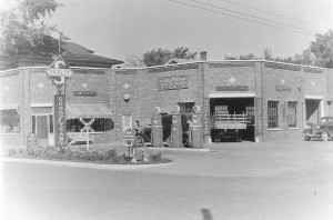 Pictured here is the Atchison Skelly Station - Tires & Batteries, circa 1939. The building was located on W. Harrison Street. If you have any other information, please contact the Moultrie County Historical Society at 217-728-4085.