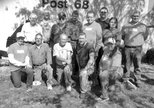 Photo Submitted Front from left: Shelly Eddington, Larry Preston, Mike Keown, Aaron York, Deb Conlin; (second row) Mike Grose, Charlie Bragg, Chuy Gandarilla, Paula Stone, Kevin Weuve; (back row) Don Butler, Mark Conlin and Jerry Krebs.