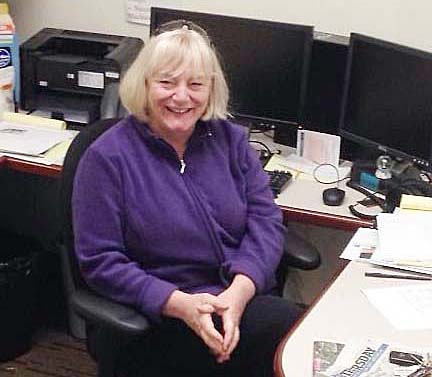 Photo by RR Best Seattle Times Editor Kathy Best stays connected to Sullivan.