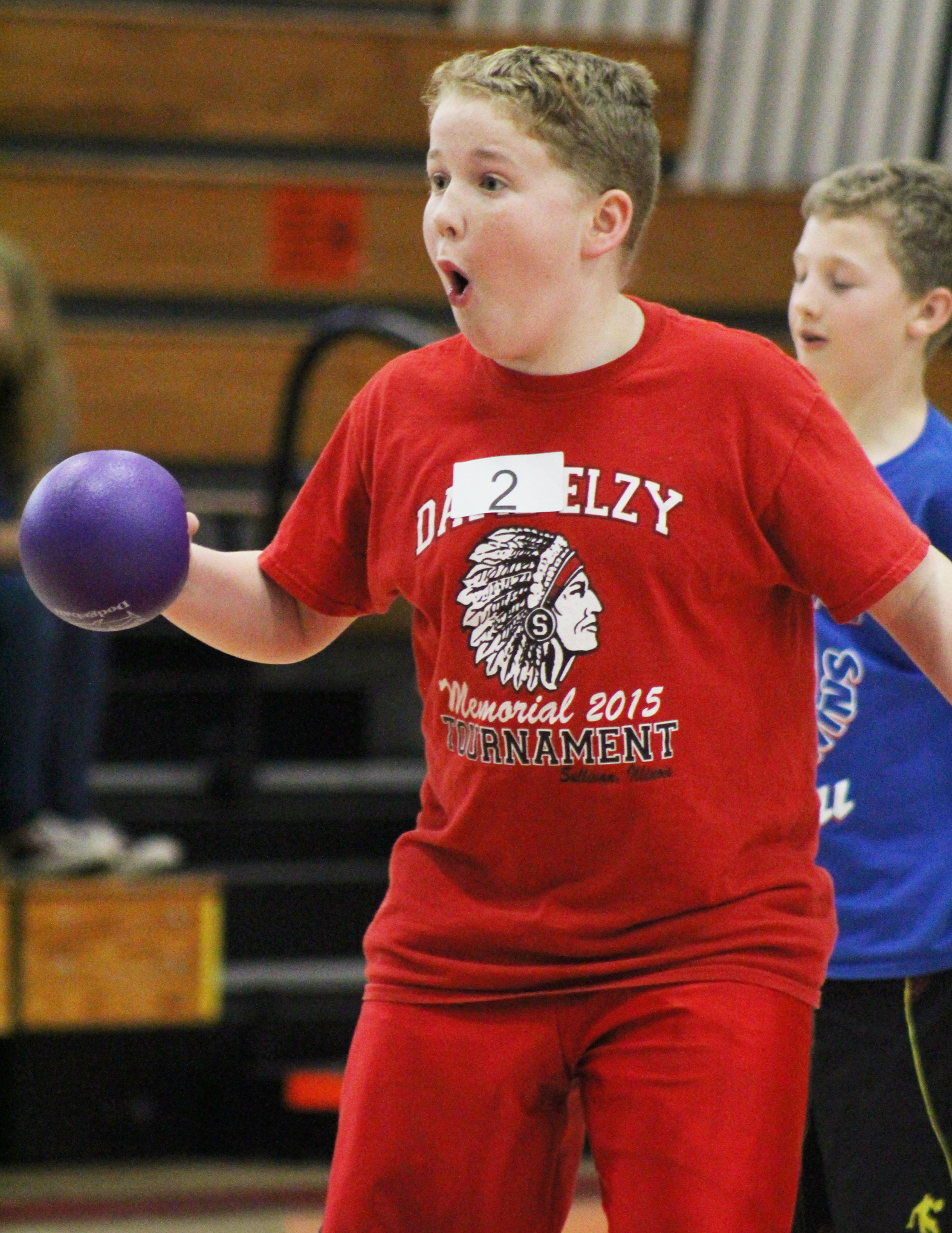 Photo Submitted Blue Dolphins Host Busterball Sullivan Blue Dolphins hosted their 13th Anniversary Busterball tournament fundraiser Saturday March 5 at Sullivan High School. Sixty-two teams played with more than 400 participants from kindergarten to adult. Teams from Okaw Valley, Mattoon, Lovington and Sullivan participated, and spectators were welcome to watch the action free all day long. Trophies were given to first place team winners, medals to the second place team winners and free snow cones for the team members who exhibited the best sportsmanship for each grade level. Many new fun activities were available during the event as well such as games, face painting and a raffle table with a wide variety of prizes.