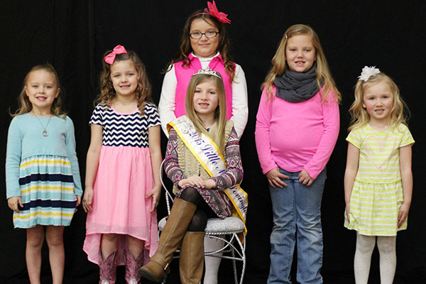 Photo by Darian Hays Little Miss contestants: (from left) Abby Franklin, daughter