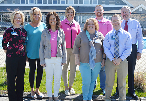 Photo Submitted Meet our 2016 SBL Golf Benefit committee members: (left to right) Kim Lockart, Patty Hedges, Becky Taylor, Debbie Boldig, Cindy Foster, Sam Adair, Chris Kessler and Larry Tojo.  Not present are Tim Kastl and Linda Neeley.