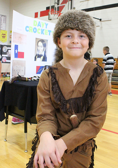 Photo furnished  Davy Crockett is Maverick Palmer.