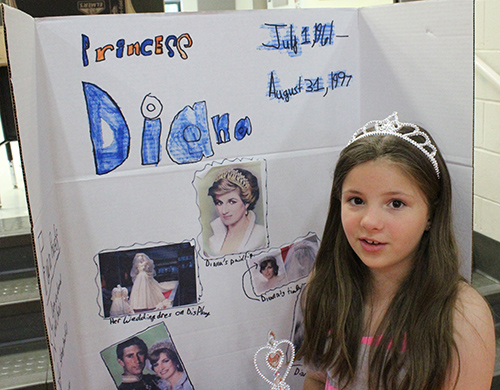 Photo furnished   Princess Diana is portrayed by Elsa Helmuth.