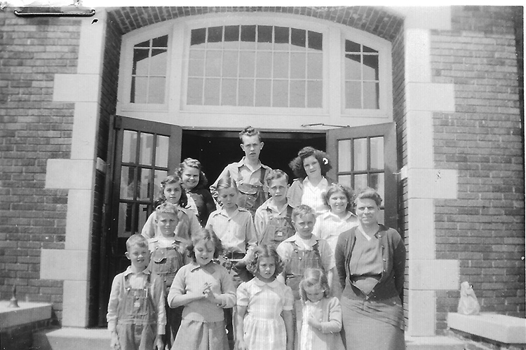 Pictured above is Belle Forest school in Lovington Township 1947-1948. Front row: A.J. Bolsen, Macia Bailey, Wanda Tohill, Lynda West, Helen Keyes Wacaser, teacher. 2nd row: Darrell Taylor, Jack Redfern. 3rd row: Dora York, Glen Woodard, Jordan York, Wanda Ruff. 4th row: Phyllis Tohill, Douglas York & Phyllis Butler. Originals will be saved for return or forwarded to Moultrie County Historical Society. If you have any other information, please contact the Moultrie County Historical Society at 217-728- 4085.. Please submit photos to the News Progress for future consideration. Originals will be saved for return or forwarded to Moultrie County Historical Society. If you have any other information, please contact the Moultrie County Historical Society at 217-728- 4085.
