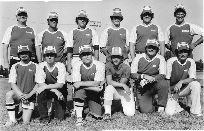 Pictured above is the Bethany Star Market BB team. This photo was taken in the mid to late 1970's. Front row: Buck Siere, Larry Bandy, Jim Waggoner, Van Bolin, Jim Davis and Mark Cuttill. Back row: Larry Cuttill, Mike Welsh, Greg Cuttill, Jeff Cuttill, Stan Patrick and Charlie Bland. Please submit photos to the News Progress for future consideration. Originals will be saved for return or forwarded to Moultrie County Historical Society. If you have any other information, please contact the Moultrie County Historical Society at 217-728- 4085.