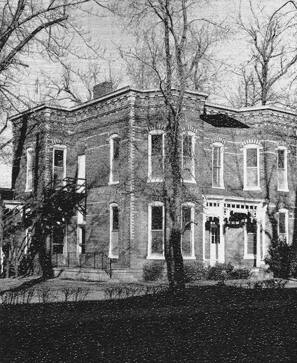 Pictured above is the Shepherd/McMullin/Gaddis home on State St. in Lovington. This home was built by M.T. Shepherd in the late 1800s. M.T. and his brother had a very successful store in Lovington and M.T. decided to go into the banking business. He built and opened the Home and Deposit Bank on the SW corner of the yard of this home. The bank was demolitioned when he expanded his business at the turn of the century. The new bank became Shepherd's National bank and was located on the north side of State St. where Pauline Hoover's insurance office used to be, which is now owned by the Millers. He died in 1903 and his sons took over. The home was sold to the McMullins several years later and became the first funeral home in Lovington. In the early 1960's, the home was sold to the Gaddis family. They operated a nursing home in it for many years. A large fire completely destroyed the old home and a new structure was raised from the old foundation. Please submit photos to the News Progress for future consideration. Originals will be saved for return or forwarded to Moultrie County Historical Society. If you have any other information, please contact the Moultrie County Historical Society at 217-728- 4085.