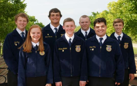 "Photo furnished Sullivan FFA Officer Team Sullivan FFA elected their officers for the 2016-2017 year this past May. Serving as president is Devin Warren, and vice president is Andrew Matlock. Bryce King serves as chapter reporter, Jon Gavin, chapter secretary, Blake Read, treasurer, Devan Tull, sentinel, and historian is Irie Dulin.  On Target for Success was selected as the chapter theme by the officers during their officer orientation meetings held this summer. Officers worked throughout the summer to learn their new offices, and the summer culminated in the Chapter Officer Leadership Training (COLT) program. During this two day retreat, officers had the opportunity to try ""escaping"" from two different escape rooms, The Office and The Curse of Jackling Manor, in Escape-Bloomington. The overall theme for the COLT program was Leadership Escape and featured a series of activities to promote teamwork and communication amongst the officer team."
