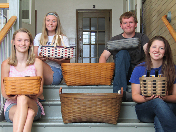 Photo furnished WHS Seniors Host Binga Fundraiser The Windsor class of 2017 will host a Longaberger Binga Fundraiser October 22 at the high school. Doors will open at 5 p.m., and the games start at 6 p.m.   Tickets are available from any senior class member or by calling Lesley Baker at 459-2636.  Tickets will also be sold at the door.   A variety of baskets filled with goodies will be available as well as refreshments, 50/50, and raffle items. Pictured top left to right:  Bailey Fleshner and Anthony Curry.  Bottom feft to right:  Jodie Harris and Gillian Sanders.