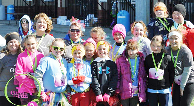 Photo furnished GOTR 5k It's time for girls to let their spirit shine by joining the Girls on the Run 5k! The Riddle Rockstars won the spirit wear trophy last spring.