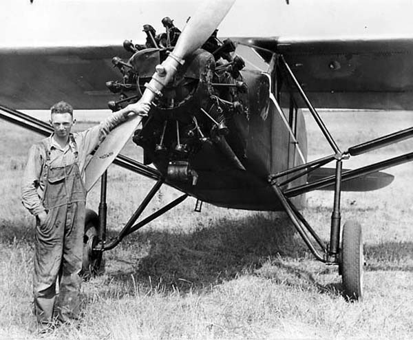 Photo furnished Hunter Moody started flying at 14 years old and was the force behind a history of aviation for the Dalton City family.