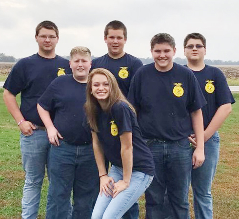 Photo furnished FFA Quiz Bowl Six members of the Windsor FFA chapter attended the Greenhand Quiz Bowl Contest hosted by the Sullivan FFA Chapter. The contest tested the members' knowledge of FFA history, important figures, and terminology in agriculture. Overall, the team from Windsor placed fifth. Team members included Brandon Milligan, Mason Campbell, Colby Kidwell, Abe Welton, Matthew Wujick, and Hannah Morlen.
