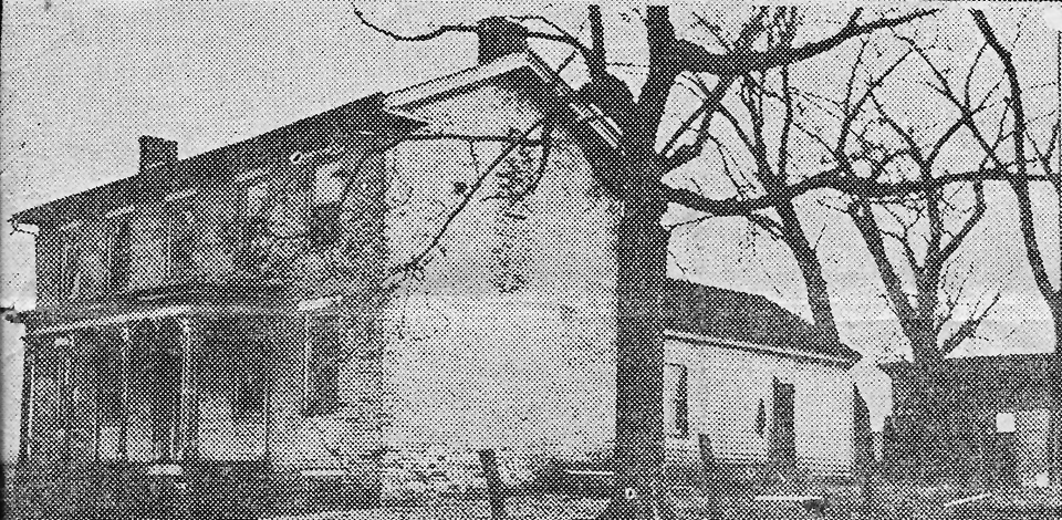 "Pictured above is the Clore ""mansion"", which appeared in a March 1929 issue of the Lovington Reporter. According to the article, it was built in 1862 by ""Wild Jim"" Clore, who formerly lived on the site where he bought a double cabin from William Martin. Mr. Martin was known as the second man who built a home in that vicinity in 1829. People familiar with Lovington know that this home is located on the west side of town off the Spfd Rd. (route 32) It still stands today and has been home to many families. Please submit photos to the News Progress for future consideration. Originals will be saved for return or forwarded to Moultrie County Historical Society. If you have any other information, please contact the Moultrie County Historical Society at 217-728- 4085."