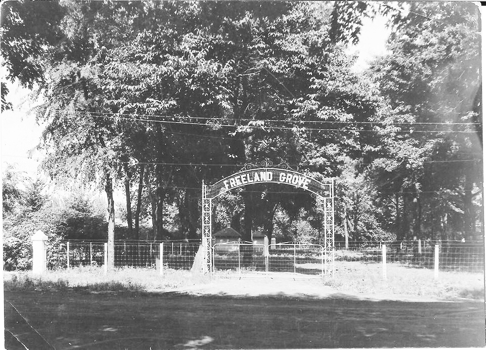 Pictured above is Freeland Grove in Sullivan. Before there was a Wyman Park, area folks used Freeland Grove. It was locaed where the Civic Center and Sullivan American Legion now are. The date that this photo was taken is unknown. Please submit photos to the News Progress for future consideration. Originals will be saved for return or forwarded to Moultrie County Historical Society. If you have any other information, please contact the Moultrie County Historical Society at 217-728- 4085.